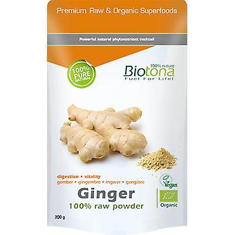 Biotona Ginger Raw Bio  200 gr