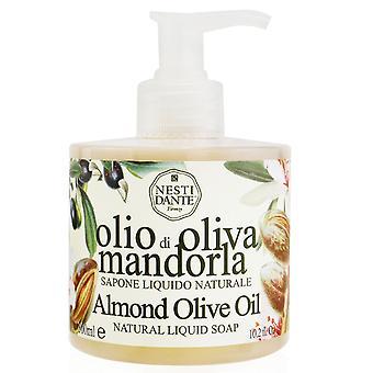 Naturlig flydende sæbe mandel olivenolie 251230 300ml/10.2oz