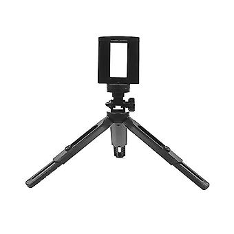 Adjustable mini tripod desktop phone holder