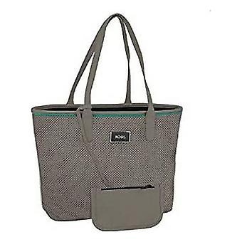 Shoulder Bag Moos Grey