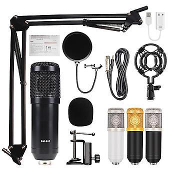 Bm 800 Hjem Studio Opptak Utstyr Kondensator Mikrofon Mikrofon Sett Sett Sett