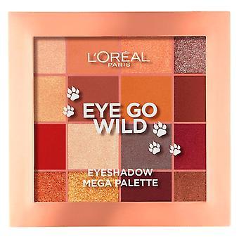 Ögonskuggpalett gå vild L'Oreal make up