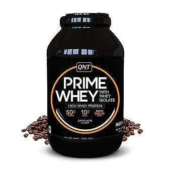 QNT Prime Hera proteiinijauhe 100% Hera-isolaatti - 2kg - Café Latte