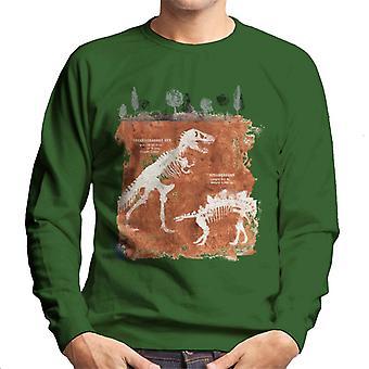 Jurassic Park T Rex Fossilien Männer's Sweatshirt