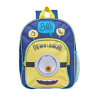 Children's Minions Face Arch Backpack
