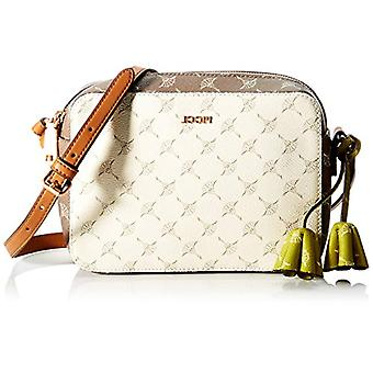 Joop! Cloe, Shoulder Bag (Women's Zipper, Dirty White, 21x15x6