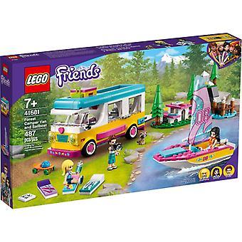 レゴ 41681 フォレスト キャンピングカー アンド セイルボート