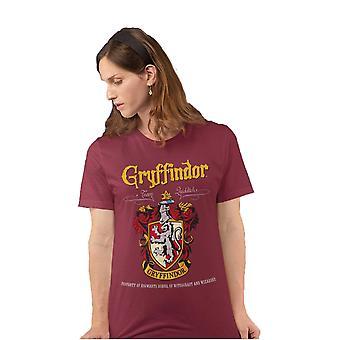 Harry Potter Womens/Ladies Gryffindor Crest Boyfriend T-Shirt