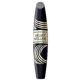3 x Max Factor Velvet Volume False Lash Effect Mascara 13.1ml - Black/Brown