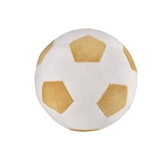 20 * 20Cm jaune + blanc amusant jouets de football pour enfants adaptés aux hommes et aux femmes de tous âges az9651