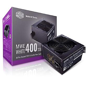 Cooler Master MWE 400W 230V V2 120mm HDB Fan 80 PLUS Certified PSU