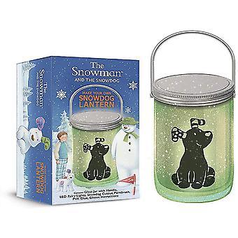 The Snowman & Snowdog Lantern - Make Your Own Snowdog Lantern