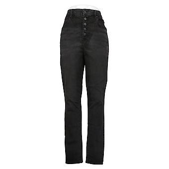 All Worthy Hunter McGrady Women's Pants Skinny Ankle Black A378419