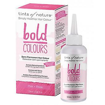 Tints of Nature Semi-Perminant Hair Color, Bold Pink 2.46 Oz