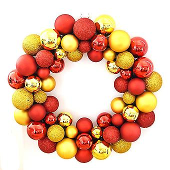 Christmas Ball Ghirlanda Garland Decorazione Natale 35cm