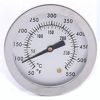 Meat Thermometer 52mm Stainless Steel Bbq Pizza 50℃~250℃ Temperature Gauge