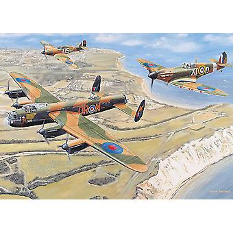 Otter House Battle Of Britain Jigsaw Puzzle (1000 Pieces)