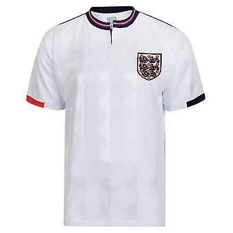 Score Draw England 1989 Retro Football Shirt