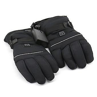 Guantes de escalada eléctricos calentados guantes termostatos de tres marchas para esquiar caminando escalada conduciendo el clima frío