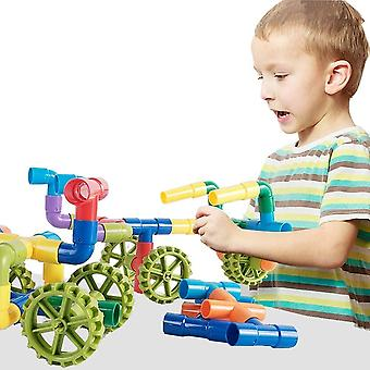 Marble Runs Kids Construcción Diy Bloques de construcción