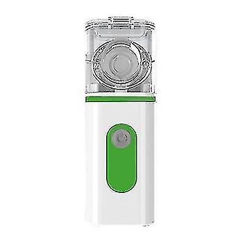 Ultrasonic atomizer, portable handheld compression atomizer(Green)