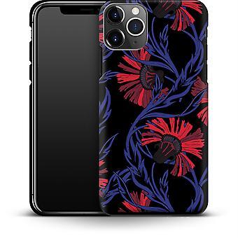 Midnight Floral von caseable Designs Smartphone Premium Case Apple iPhone 11 Pro