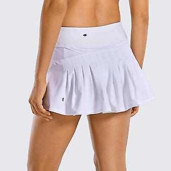 Jupe plissée athlétique pour femmes avec poche
