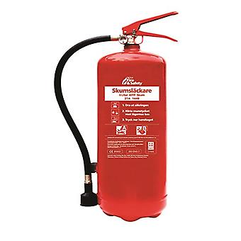 Extintor de incendios de Nexa, l 6 roja espuma, montaje en pared