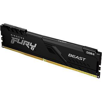 Kingston Fury Beast 4GB, DDR4, 2666 MHz (PC4-21400), CL16, DIMM-minne