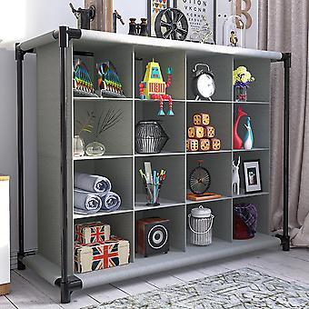 Armoire de rangement de chaussures à 4 couches Armoire à tiroir étanche à la poussière Type Rack Gain d'espace