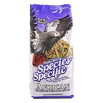 Pretty Bird Species Špecifické africké šedé jedlo - 8 libier