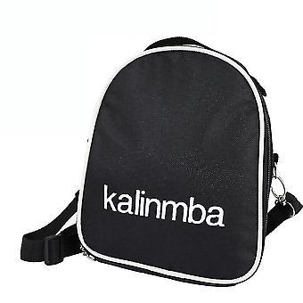 17 Keys kalimba thumb piano bag shock resistance bag black