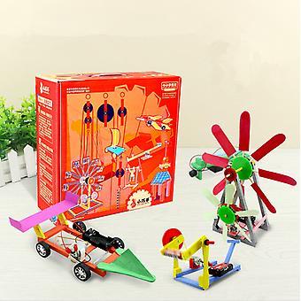 Ajándék Színes Doboz 10-12 Gyermek Kreatív Diy Kis Kézimunka Tudományos Kísérlet Játék
