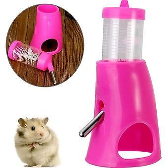 Lemmikkieläinten pienet eläimet Hamster hideout juomavesi 2in1 vesipullo