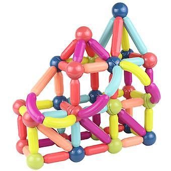 子供のおもちゃ幼児教育の品種磁気ロッド無料アセンブリパズルゲーム磁気ピースアセンブリ