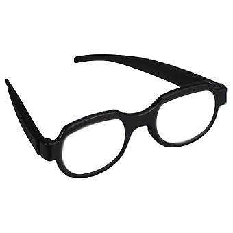 Ledet lys briller ser frem til lidenskapelig rekvisitter mote utseende anime rekvisitter skinnende briller mote menns kvinner