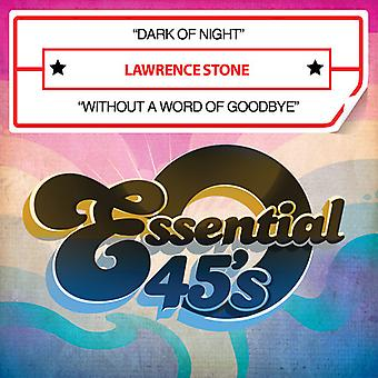 Lawrence Stone - dunkel der Nacht / ohne ein Wort der Goodbye USA import