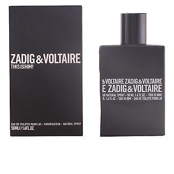 Zadig & Voltaire Dit is Hem! Eau De Toilette Spray 30 ML voor heren