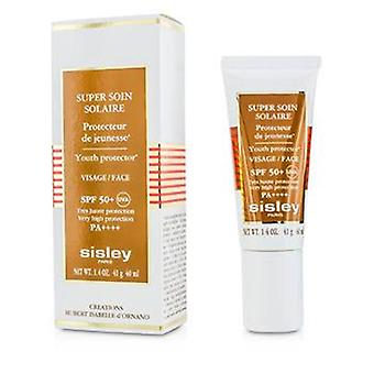 Sisley super Soin Solaire Youth protector para face SPF 50 +-40ml/1.4 oz