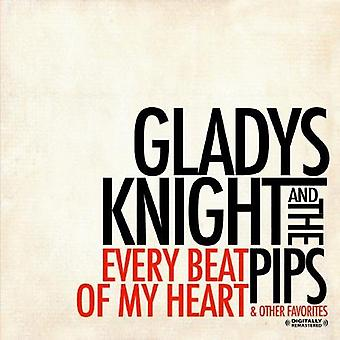 Gladys Knight & Pips - jeden schlagen der Herzen & andere Favoriten [CD] USA import