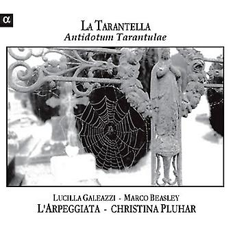 La Tarantella-Antidotum Tarantulae (Music From the - La Tarantella: Antidotum Tarantulae [CD] USA import