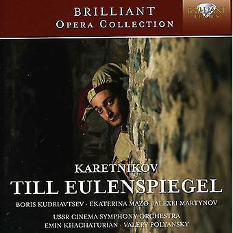 Karetnikov - Karetnikov: Till Eulenspiegel [CD] USA import