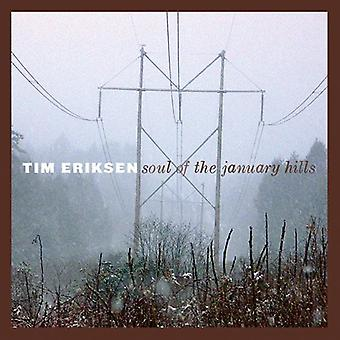 Tim Eriksen - Soul of the January Hills [CD] USA import