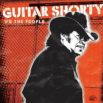 Guitar Shorty - vi människor [CD] USA importerar
