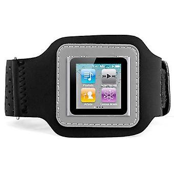 DIGIFLEX schwarz Sport Armband Case für Apple iPod Nano 6. Gen