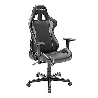 DX Racer DXRacer OH/FH08/NG High-Back Ergonomic Computer Chair PU(Black/Gray)