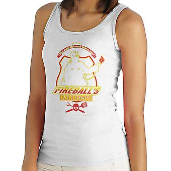 Fireballs BBQ Running Man Women's Vest