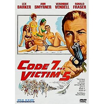 Code 7 Victim 5 [DVD] USA import