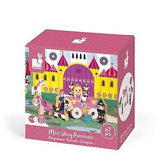جند خشبية مصغرة قصة الأميرات 3-6 سنوات