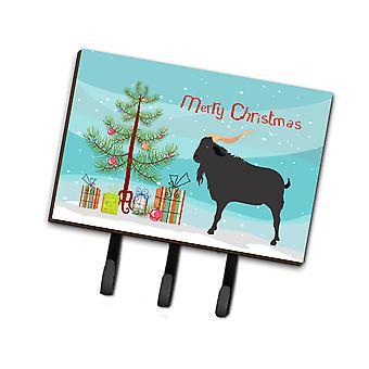 Carolines Treasures  BB9249TH68 Verata Goat Christmas Leash or Key Holder